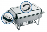"""Chafing Dish aus Edelstahl, """"Thermo"""""""