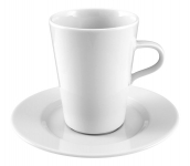 "Milchkaffeetasse, 0,35 l, weiß, Serie ""Steak & More"""